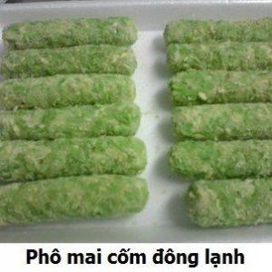 Pho mai com dong xanh