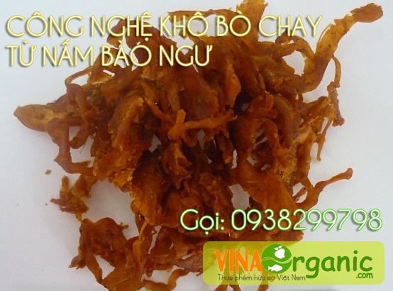 VinaOrganic chuyển giao công nghệ sản xuất bò khô từ nấm bào ngư