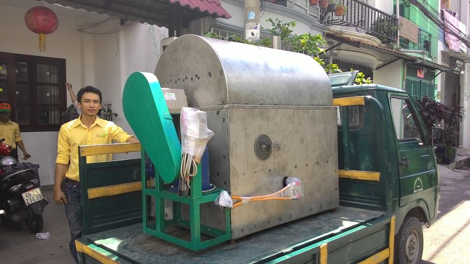 May rang dau nanh say gion dried soybean machines2