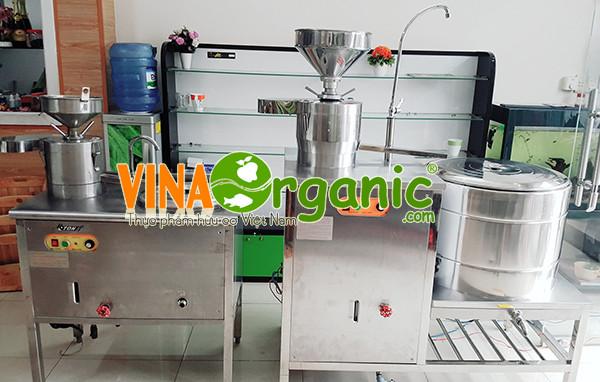 Máy làm sữa bắp, sản xuất sữa bắp (sữa ngô), sữa hạt sen, gạo lứt