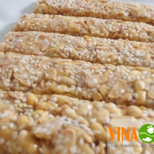 Kẹo đậu nành kẹo đậu phộng VinaOrganic