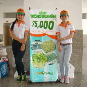 Bộ KIT trồng rau mầm VinaOrganic