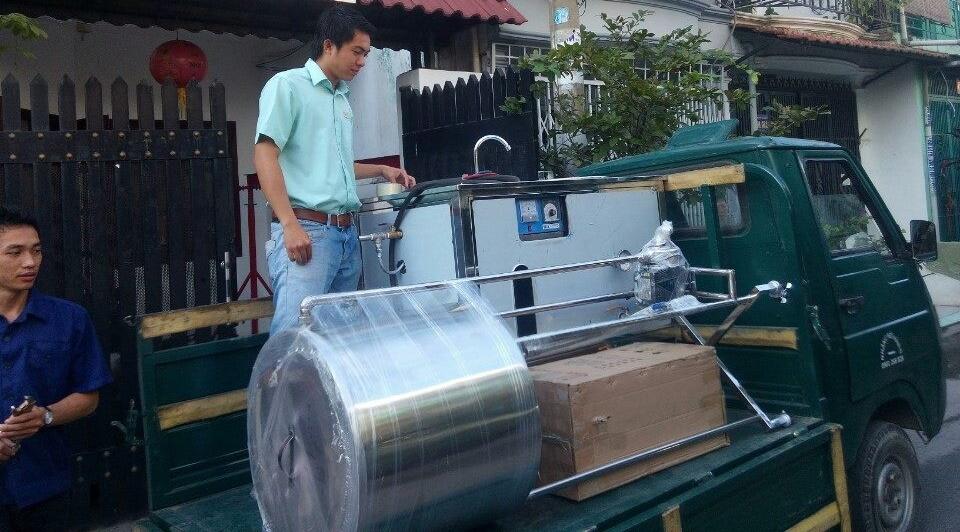Hệ thống máy làm sữa 100 lít mỗi mẻ