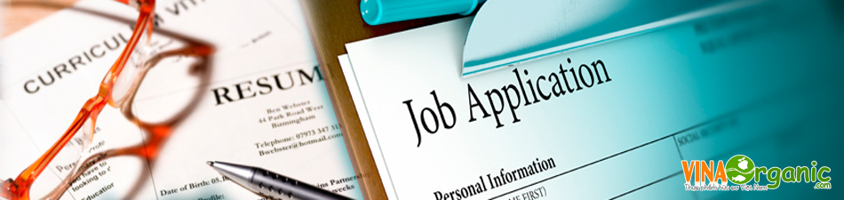 VinaOrganic tuyển dụng nhân sự 2