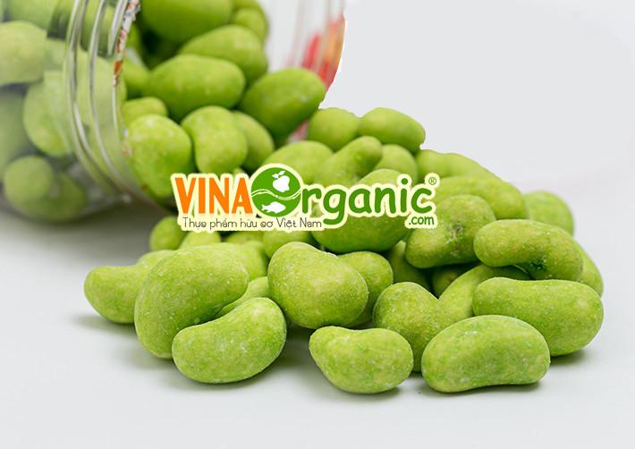 Công nghệ sản xuất Hạt điều wasabi VinaOrganic