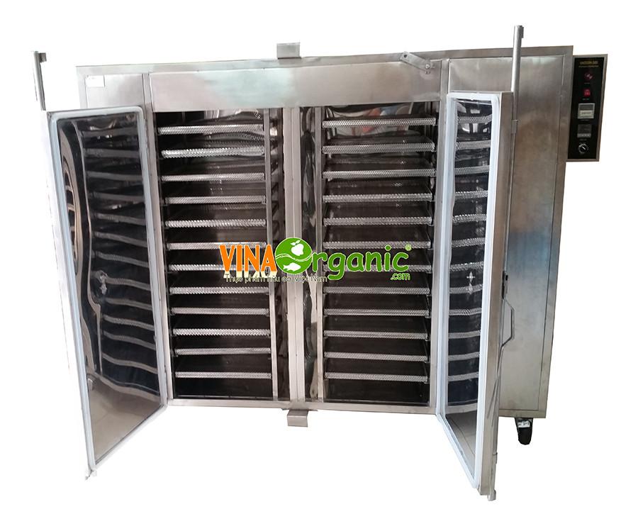 VinaOrganic chuyển giao công nghệ khô gà xé lá chanh